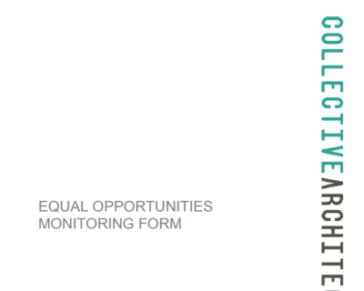Equal Opportunities - Monitoring Form