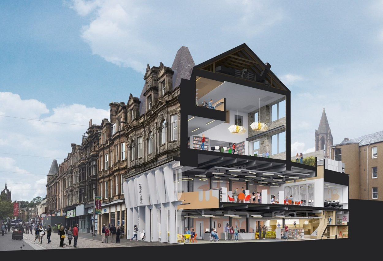 Paisley Learning and Cultural Hub