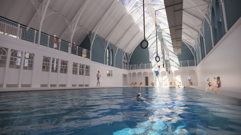 Swimming Pool Render 2
