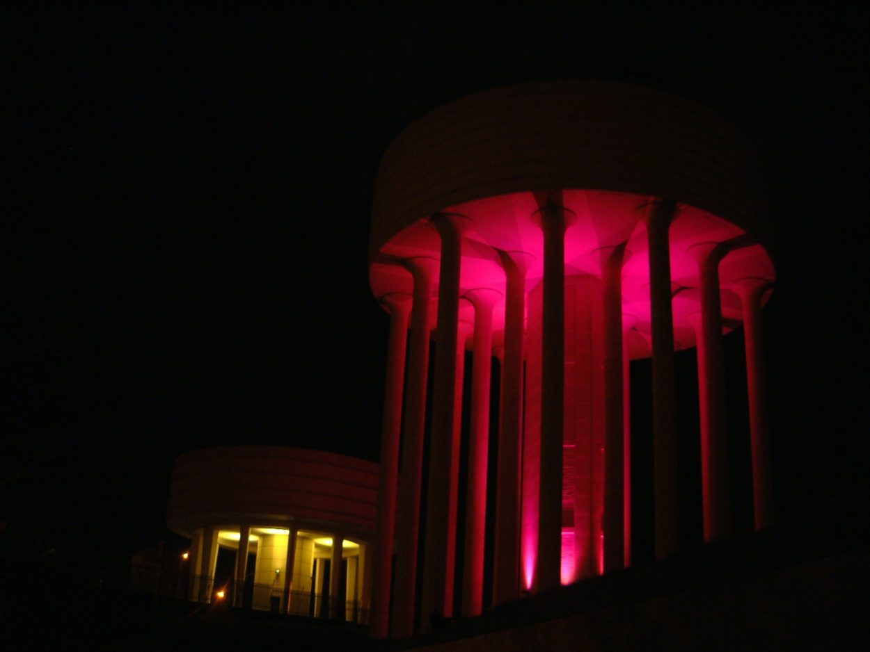 Water Tower Lighting Installations